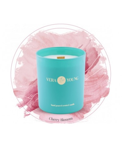 Vera Young - Cherry Blossom - Bliss - Świeca Sojowa