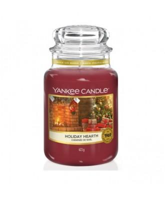 Yankee Candle - Holiday Hearth - Świeca Zapachowa Duża