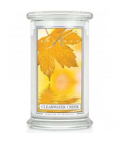 Kringle Candle - Clearwater Creek - Świeca Zapachowa Duża 2 Knoty
