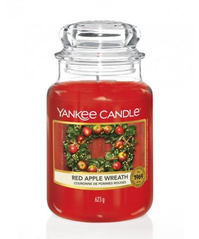 Red Apple Wreath - Świąteczny Stroik (Słoik Duży)