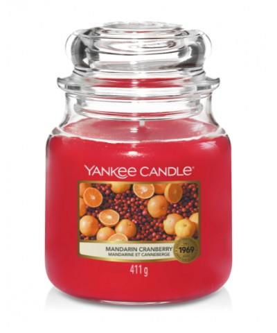 Mandarin Cranberry - Mandarynka z Żurawiną (Słoik Średni)