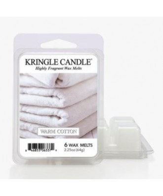 Kringle Candle - Warm Cotton - Wosk Zapachowy - Ciepła Bawełna