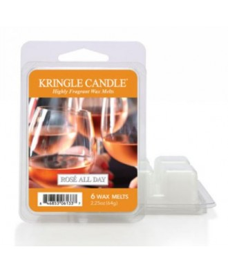Kringle Candle - Rose All Day - Wosk Zapachowy - Różowe Wino