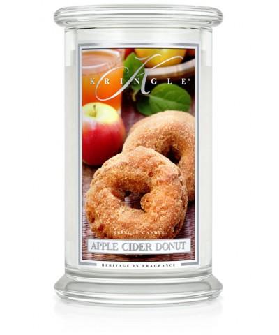 Apple Cider Donut - Pączek Jabłkowy (Świeca Duża 2 Knoty)