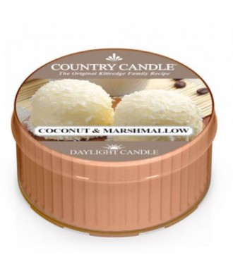 Country Candle - Coconut & Marshmallow - Daylight