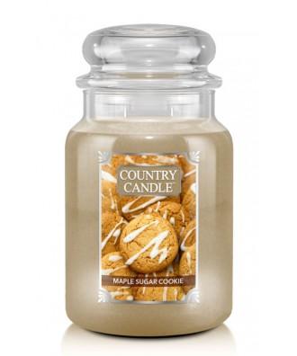 Country Candle - Maple Sugar Cookie - Świeca Zapachowa Duża 2 Knoty