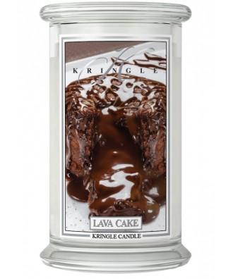 Kringle Candle - Lava Cake - Świeca Zapachowa Duża 2 Knoty