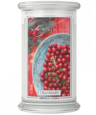 Kringle Candle - Cranmary - Świeca Zapachowa Duża 2 Knoty