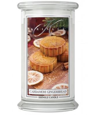 Kringle Candle - Cardamom Gingerbread - Świeca Zapachowa Duża 2 Knoty
