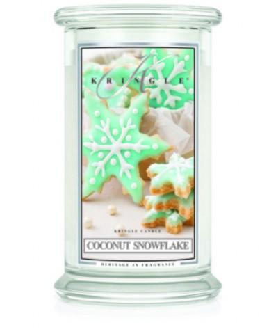 Coconut Snowflake - Kokosowy Płatek Śniegu (Świeca Duża 2 Knoty)