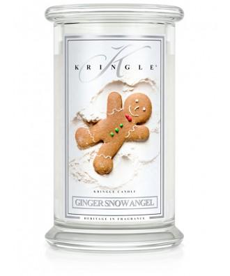 Ginger Snow Angel - Piernikowy Aniołek (Świeca Duża 2 Knoty)