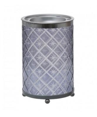 Yankee Candle - Grey Etched Star - Kominek do Wosków Zapachowych