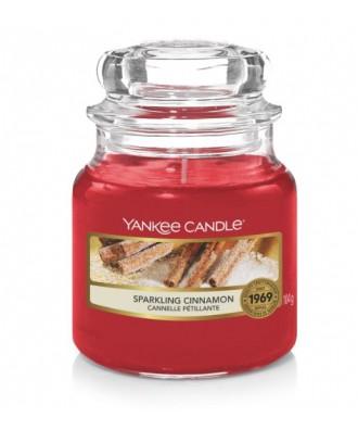 Yankee Candle - Sparkling Cinnamon - Świeca Zapachowa Mała - Iskrzący Cynamon