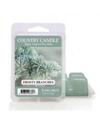 Country Candle - Frosty Branches - Wosk Zapachowy - Zmrożone Gałęzie