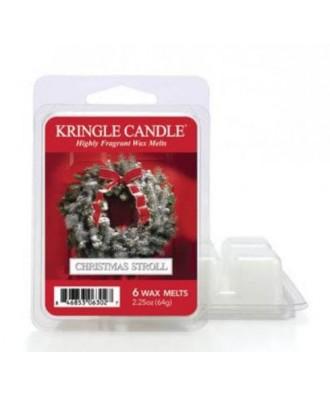 Kringle Candle - Christmas Stroll - Wosk Zapachowy - Świąteczna Przechadzka