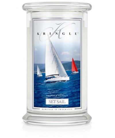 Set Sail - Podnieść Żagle! (Świeca Duża 2 Knoty)