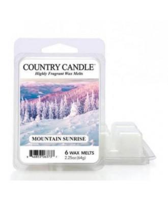 Country Candle - Mountain Sunrise - Wosk Zapachowy - Wschód Słońca w Górach