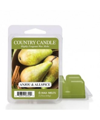 Country Candle - Anjou & Allspice - Wosk Zapachowy