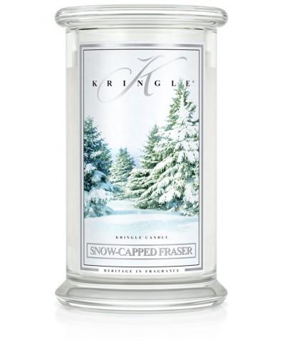 Snow-Capped Fraser - Ośnieżone Drzewa (Świeca Duża 2 Knoty)