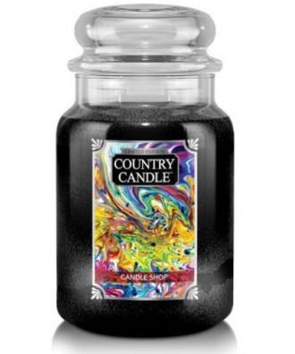 Country Candle - Candle Shop - Świeca Zapachowa Duża