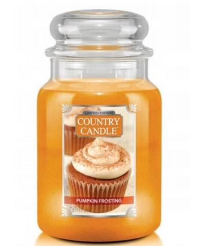 Country Candle - Pumpkin Frosting - Świeca Zapachowa Duża