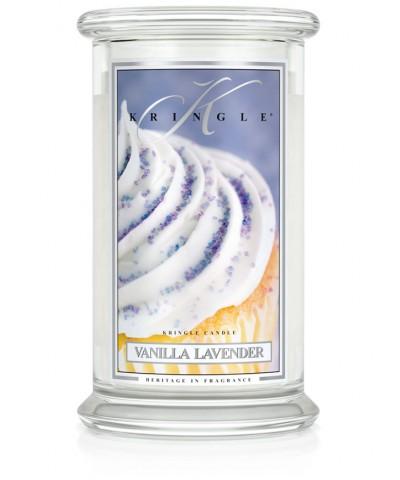 Vanilla Lavender - Waniliowa Lawenda (Świeca Duża 2 Knoty)