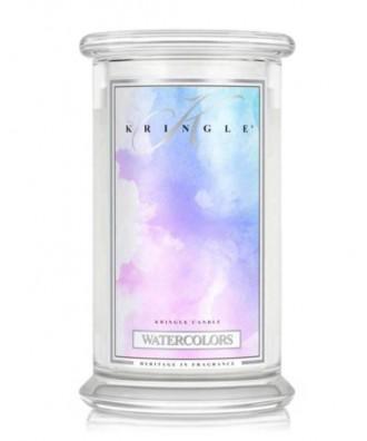 Kringle Candle - Watercolors - Świeca Zapachowa Duża
