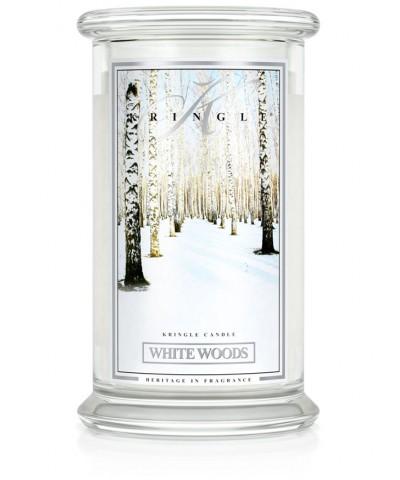 White Woods - Białe Lasy (Świeca Duża 2 Knoty)