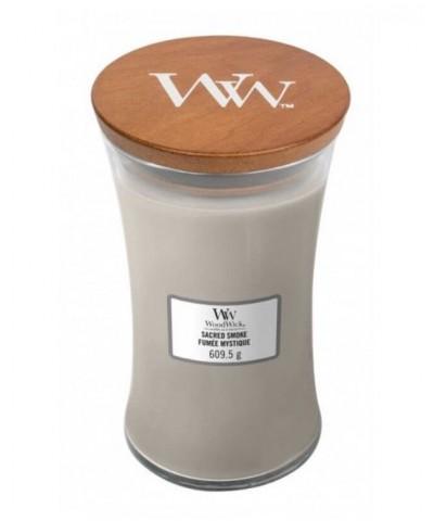 Woodwick - Sacred Smoke - Świeca Zapachowa Duża Core