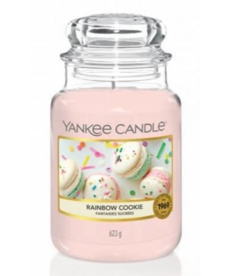 Yankee Candle - Świeca Duża - Rainbow Cookie - Tęczowe Ciastka