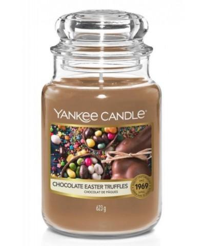Yankee Candle - Chocolate Easter Truffles - Wielkanoc 2021 - Świeca Zapachowa Duża