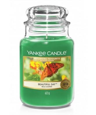 Yankee Candle - Beautiful Day - Świeca Zapachowa Duża
