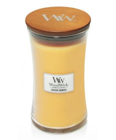 Woodwick - Seaside Mimosa - Świeca Zapachowa Duża Core