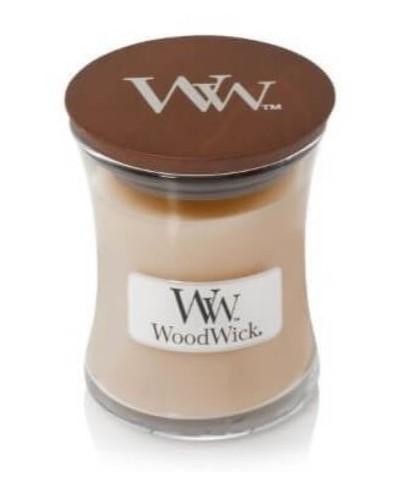 Woodwick - White Honey - Świeca Zapachowa Mała Core