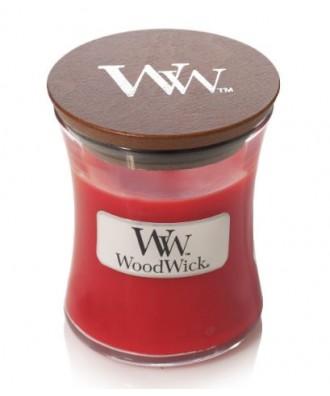 Woodwick - Crimson Berries - Świeca Zapachowa Mała Core