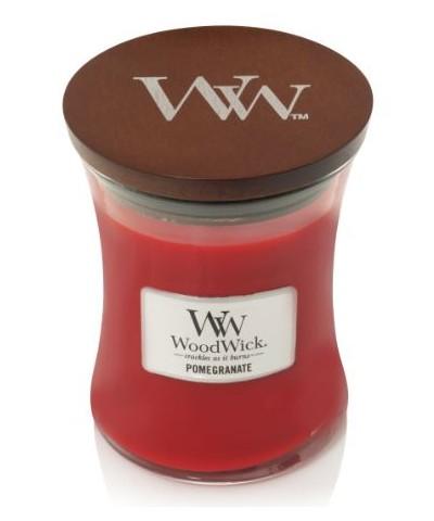 Woodwick - Pomegranate - Świeca Zapachowa Średnia Core