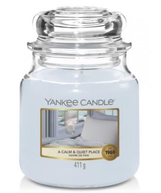 Yankee Candle - A Calm & Quiet Place - Świeca Zapachowa Średnia