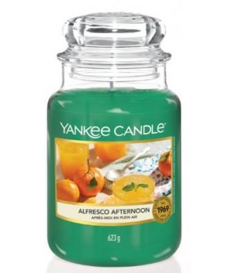Yankee Candle - Alfresco Afternoon - Świeca Zapachowa Duża