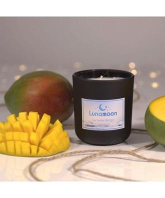 Lunamoon - Soczyste Mango - Świeca Zapachowa Sojowa Mała