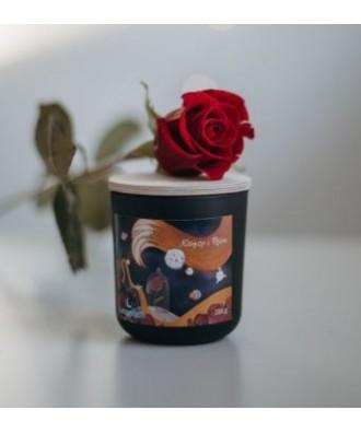 Lunamoon - Książę i Róża - Świeca Zapachowa Sojowa Mała