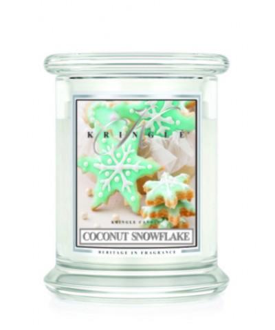 Coconut Snowflake - Kokosowy Płatek Śniegu (Świeca Średnia 2 Knoty)