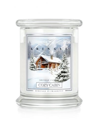 Cozy Cabin - Przytulna Chatka (Świeca Średnia 2 Knoty)
