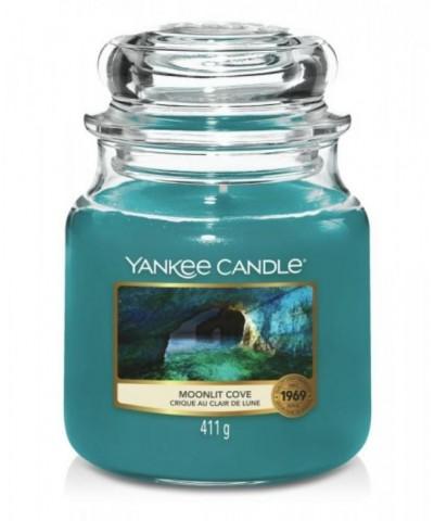 Yankee Candle - Moonlit Cove - Świeca Zapachowa Średnia