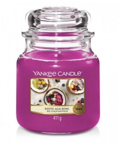 Yankee Candle - Exotic Acai Bowl - Świeca Zapachowa Średnia