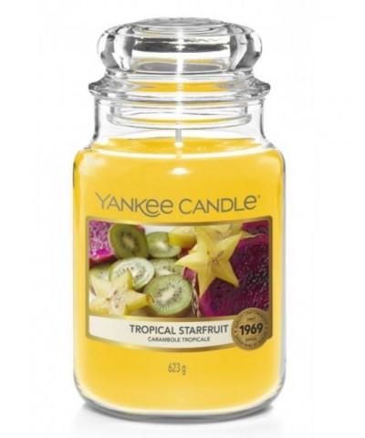 Yankee Candle - Tropical Starfruit - Świeca Zapachowa Duża