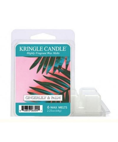 Kringle Candle - Gingerlily & Palm - Wosk Zapachowy