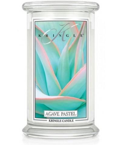 Kringle Candle - Agave Pastel - Świeca Zapachowa Duża 2 Knoty