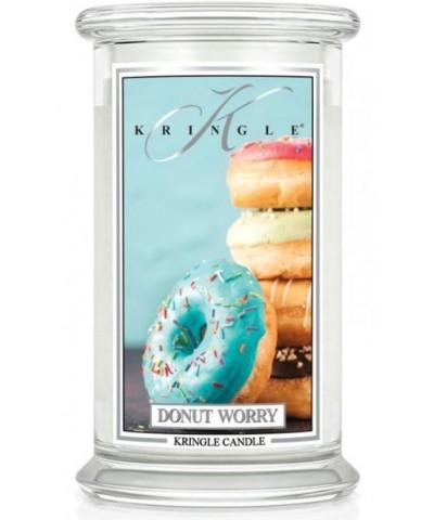 Kringle Candle - Donut Worry - Świeca Zapachowa Duża 2 Knoty