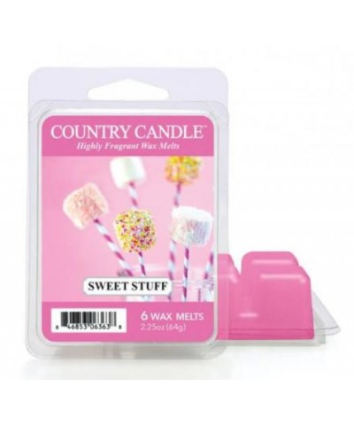 Country Candle - Sweet Stuff - Wosk Zapachowy
