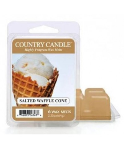 Country Candle - Salted Waffle Cone - Wosk Zapachowy
